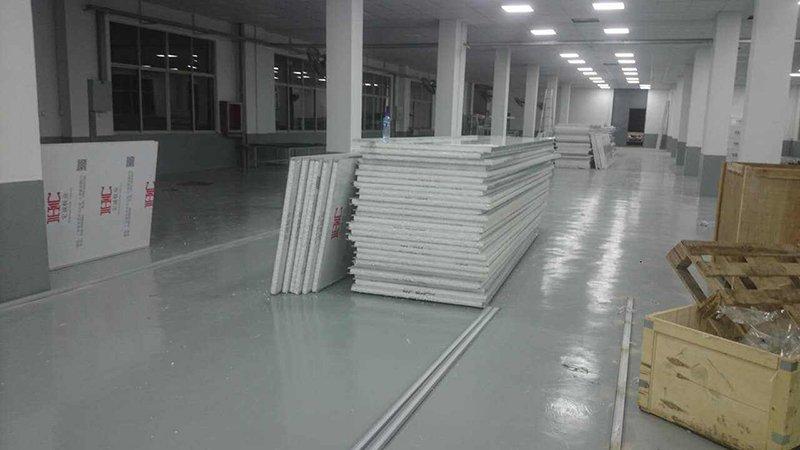 武汉名幸电子净化工程已开工建设