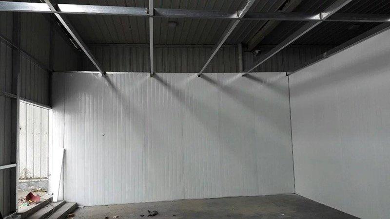广州津大食品洁净厂房开始施工
