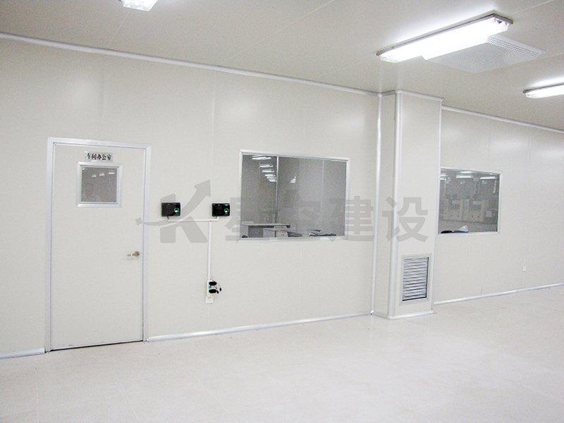 中穗金谷食品无尘车间工程案例