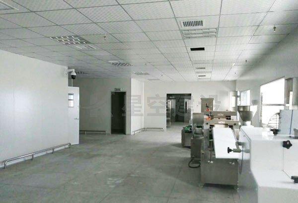 郴州嘉年华食品无尘无菌车间工程案例