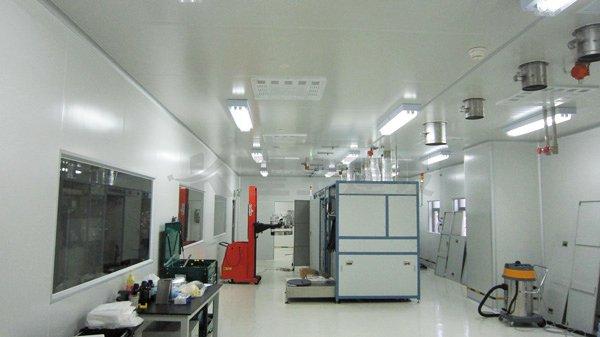 拓邦锂电池无尘车间工程案例