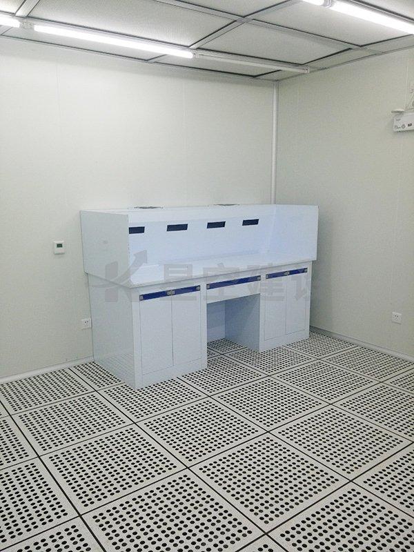 广东普莱斯新材料无尘车间工程案例