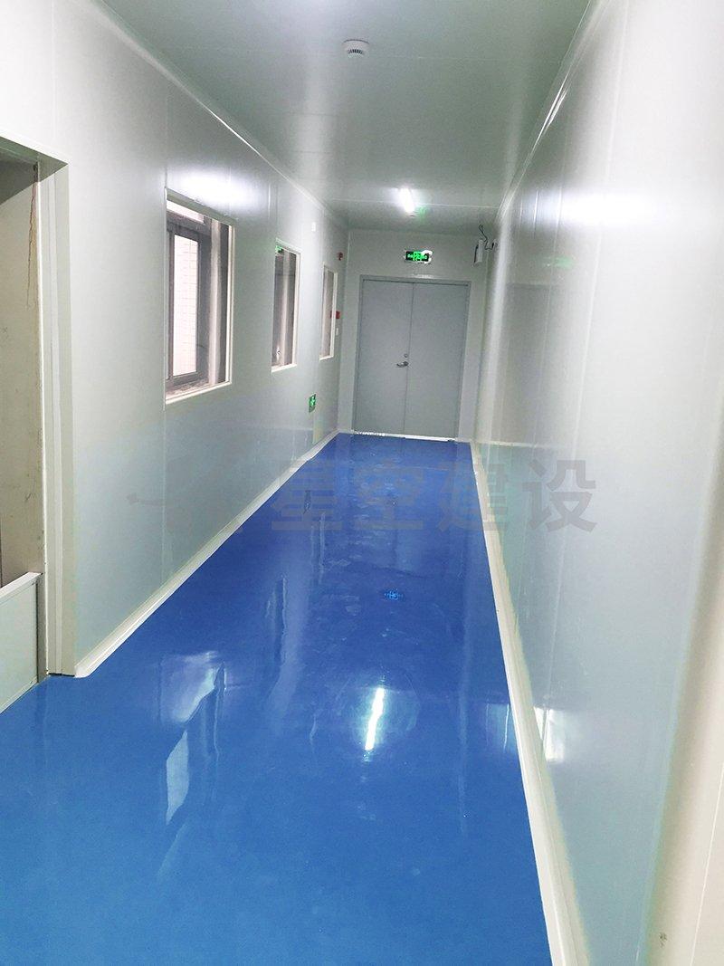 湖南源新医疗器械无尘车间工程案例